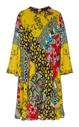 Etro Derbyshire Printed Silk Mini Dress