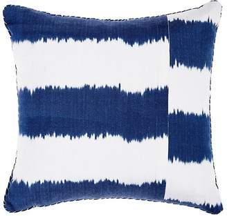 Madeline Weinrib Striped Ikat Pillow