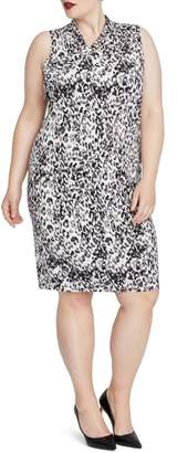 Rachel Roy Axel Leopard Print Dress