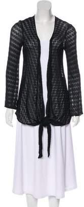 Missoni Sheer Knit Cardigan