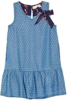 Peek Miley Chambray Drop Waist Dress