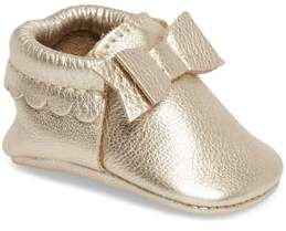 Freshly Picked Metallic Bow Moccasin