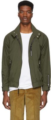 John Elliott Green Harrington Jacket
