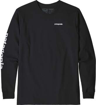 Patagonia Text Logo Long-Sleeve Responsibili-T-Shirt - Men's
