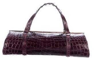 Pre Owned At Therealreal Vbh Tootsie Crocodile Bag