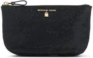 MICHAEL Michael Kors star print make-up bag