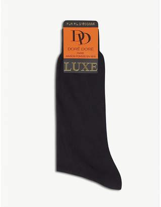 Dore Dore Pur fil d'écosse luxe cotton socks