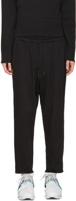 Y-3 Black M Trnsfrm Lounge Pants $290 thestylecure.com
