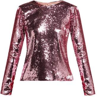 Racil - Judy Sequined Top - Womens - Pink