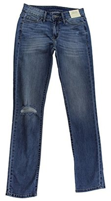 Calvin Klein Jeans Women's Destroyed Straight $89.50 thestylecure.com