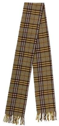 Burberry Wool Nova Check Scarf