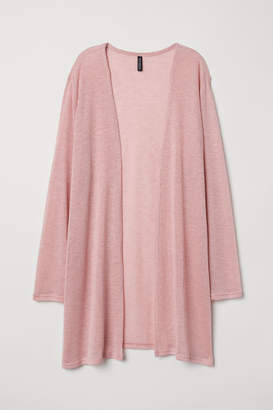 H&M H&M+ Fine-knit Cardigan - Pink