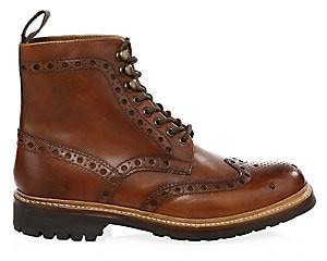 Grenson Men's Fred Commando Wingtip Boots