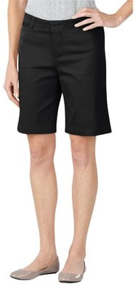 "Dickies Women's 10"" Stretch Twill Shorts"
