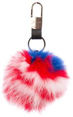Gorski The Flag Fox Bag Charm