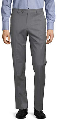 Tommy Hilfiger Flat Front Wool-Blend Pants