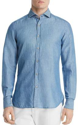 Dylan Gray Classic Fit Chambray Shirt - 100% Exclusive