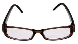 Fendi Logo Rectangular Eyeglasses
