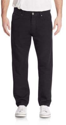 James Perse Five-Pocket Straight-Leg Jeans