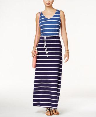 Tommy Hilfiger Ramona Striped Maxi Dress $89.50 thestylecure.com