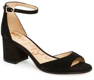 Women's Sam Edelman Susie D'Orsay Ankle Strap Sandal $119.95 thestylecure.com