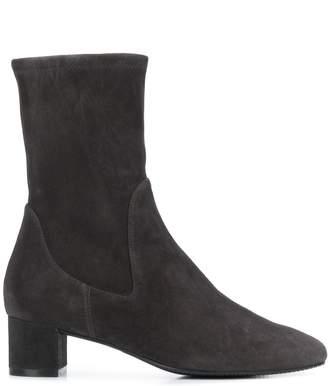 Stuart Weitzman low heel ankle boots