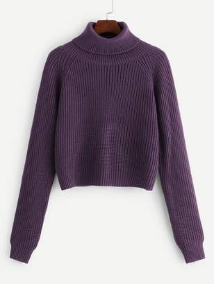4b8d95b8ff0 Purple Roll Neck Women's Sweaters - ShopStyle