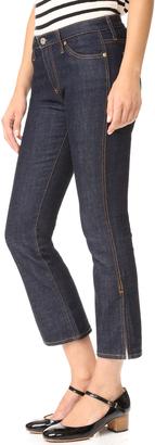 AG The Jodi Crop Side Slit Jeans $188 thestylecure.com