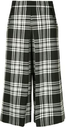 Alexander Wang tartan cropped trousers