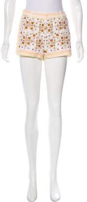 Antik Batik Mid-Rise Mini Shorts w/ Tags