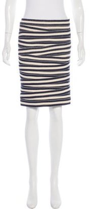 Boy. by Band of Outsiders Striped Knee-Length Skirt $75 thestylecure.com