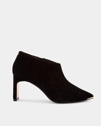 6215899351f3 Ted Baker Black Suede Women s Boots - ShopStyle