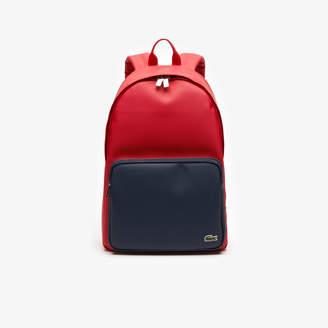 Lacoste Men's Bicolor Backpack