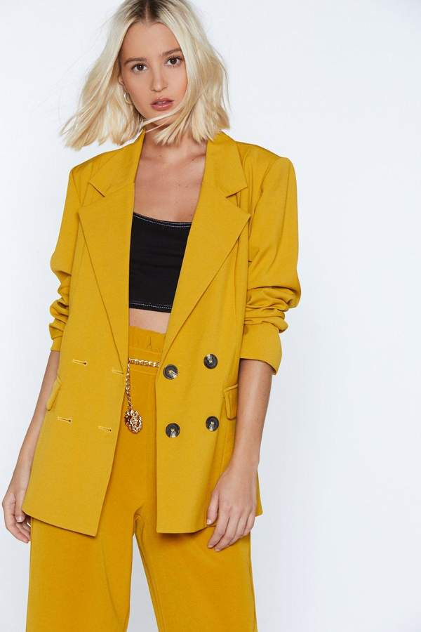 Strong Suit Double Breasted Blazer