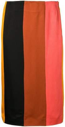 M Missoni striped pencil skirt