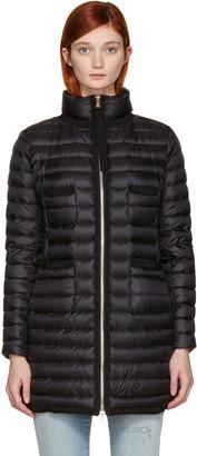 Moncler Black Down Bogue Jacket $1,095 thestylecure.com