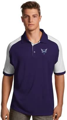 Antigua Men's Charlotte Hornets Century Polo