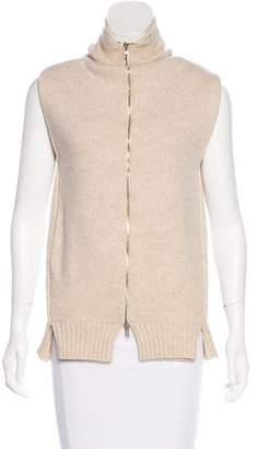Maison Margiela Merino Wool Sleeveless Sweater 5a8dbbca5