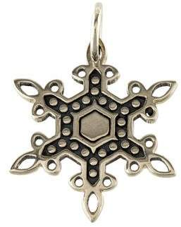 John Hardy Snowflake Pendant