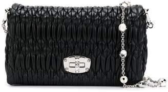 Miu Miu Bandoliera Crystal strap shoulder bag