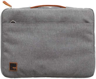 Kreafunk KREAFUNK - aSleeve Laptop Case - PU Leather/Canvas - Light Grey