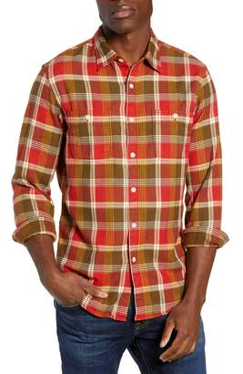 J.Crew Wallace & Barnes Slim Fit Plaid Flannel Shirt
