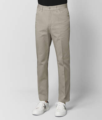 Bottega Veneta DARK CEMENT COTTON PANT