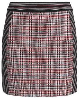 Missoni Printed Jacquard-Knit Wool-Blend Mini Skirt