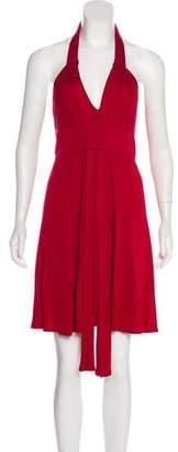Celine Knee-Length Sleeveless Dress