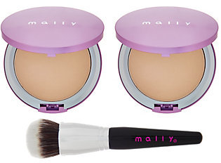 Mally Beauty Mally Supersize Poreless Foundation Duo w/ Brush