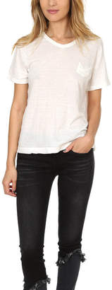 V::room Melange V Neck Tee