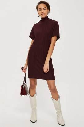 NATIVE YOUTH Plisse Shift Dress
