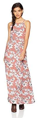 Roxy Junior's Pavement Border Maxi Dress