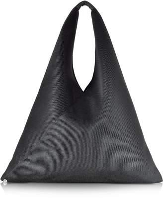 MM6 MAISON MARGIELA Mm6 Maison Martin Margiela Black Net Fabric Oversize Japanese Tote Bag